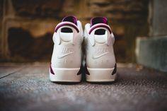 """Nike Air Jordan 6 """"Maroon"""" Retro"""