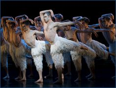 """The Film World is in the midst of a three-dimensional craze, and its latest eye-popping gem is """"Matthew Bourne's Swan Lake"""". The film's featured star, Richard Winsor, is something of a startling vision himself."""