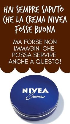 You've Always Known That Nivea Cream Was Good … But Maybe N … – Skin Care Products Beauty Care, Beauty Hacks, Massage Techniques, Bridal Hair And Makeup, Tips Belleza, Skin Treatments, Fett, Body Care, Green Life