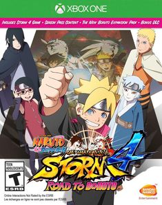 Naruto Shippuden: Ultimate Ninja Storm 4 Road to Boruto - Xbox One, Multi, 22049