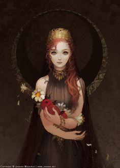 Persephone, Janaina Medeiros on ArtStation at https://www.artstation.com/artwork/persephone-7fe9bbed-829f-40ec-abc9-25d2d30b415f