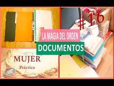 Organizar DOCUMENTOS La magia del orden📰 16 - YouTube