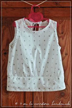 4 EN LA CARRETERA. Handmade: E PATTERN - PATRÓN E Toddler Girl Outfits, Baby Girl Dresses, Baby Dress, Kids Outfits, Diy Clothes Tops, Diy Clothes Refashion, Frocks For Girls, Kids Frocks, Gharara Designs