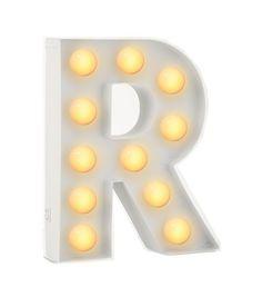 letterverlichting R - HEMA
