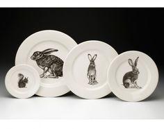 Laura Zindel Design - Dinnerware Set: Woodland 2 - Dinnerware Plates - Plates - Dinnerware - Types