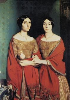 The Two Sisters. Théodore Chassériau. 1843