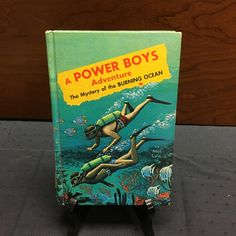 1965 The Mystery of the Burning Ocean - A Power Boys Adventure by ALiteraryObsession on Etsy