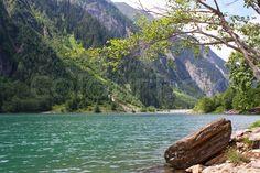 Von Mayrhofen im Zillertal erreicht man das Stilluptal. Stausee im Stilluptal, Tirol. Stilluptal | Stock-Foto | Colourbox on Colourbox  (c) HaKo Photo