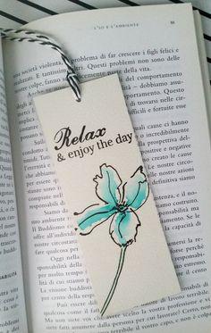 Handmade Bookmark Watercolor Bookmark Laminated by DiyCraftyScraps                                                                                                                                                      More
