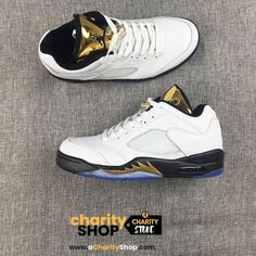 b6bfab029738f JORDAN 5 RETRO LOW TOP GOLD COIN LIMITED SUPPLY (for Customizing) customized