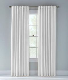 Jasper Faux Silk Lined Back Tab Curtains - White | Prospect + Vine