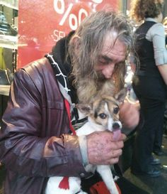 Homeless man reunited with his dog #pettalkradio