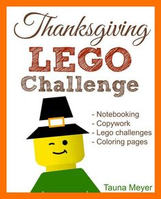 Thanksgiving Lego Challenge (+ Free Printable Friday!) - http://www.proverbialhomemaker.com/thanksgiving-lego-challenge-free-printable-friday.html