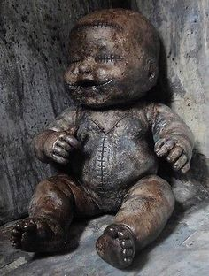 OOAK-Gothic-Corpse-Mummified-Horror-Doll