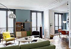 Red edition - Sabrina Ficarra & Cyril Laborde Paris apartment - IDEAT avril 2014