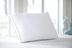 White Ashley Pillow 3-in-1 Queen Pillow by Ashley Furniture