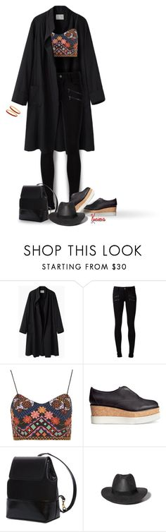 """""""Clothes I'd Really Wear - #7"""" by kurious ❤ liked on Polyvore featuring La Garçonne Moderne, Paige Denim, Topshop, H&M, MARA, Abercrombie & Fitch and Halcyon Days"""
