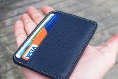 Кошелек от ShamrockWallets™. Супертонкий и суперлегкий кожаный кошелек весом всего в 35 грамм.
