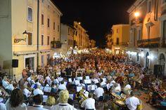Weinfest Bardolino - das festa dell'uva e del vino in Bardolino am Gardasee