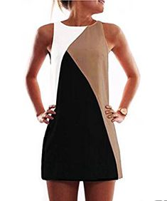 2016 neue sommer sexy frauen sleeveless dress abend club dress casual patchwork mini dress sweet vestido Source by Stylish Dresses, Tight Dresses, Club Dresses, Sexy Dresses, Casual Dresses, Short Dresses, Casual Outfits, Fashion Dresses, Mini Dresses