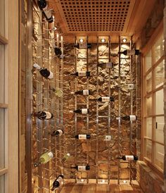 Wine Cellar Design shelves