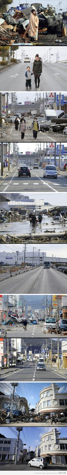 {Japan- 11 months after Earthquake & Tsunami} This will lighten your heart!!