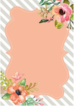 "Print ""Discover recipes, home ideas, style inspiration and other ideas to try. Cute Backgrounds, Wallpaper Backgrounds, Iphone Wallpaper, Wallpapers, Diy And Crafts, Paper Crafts, Borders And Frames, Binder Covers, Floral Border"