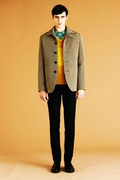 Jonathan Saunders Fall 2012 Menswear Fashion Show