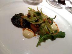 Insalata di pollo e salsa di ricci al Magorabin - #socialfoodewine - @magorabin @carlovischi - Ph. E. Giorgini