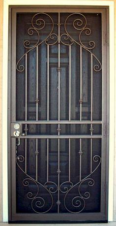 Custom Security Doors Phoenix Door Gate Design Grill