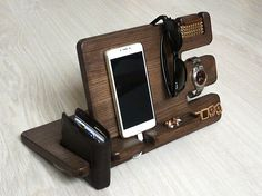 Wooden docking stationCharging StationGift for a