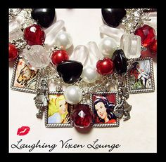 Snow White Jewelry  Fairytale Jewelry  Snow by LaughingVixenLounge, $45.00