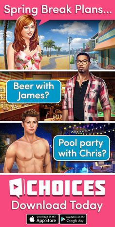 PLAY NOW! Make YOUR Choice! ✨Create your personal LOOK Make new FRIENDS  Go to a romantic adventure and date your CRUSH✨