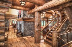 Dream House - Wyoming Log Ski Home (21 Photos) (16)