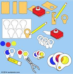 How to make a Spy Glass Color Wheel