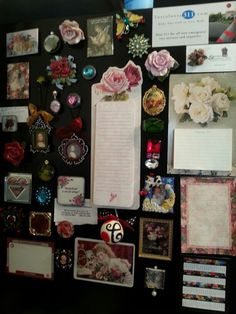 Some of my magnets. ..