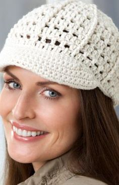 Brimming with Fun #Hat Free #Crochet #Pattern