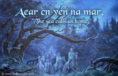 Aear en ven na mar ~ The sea calls us home.