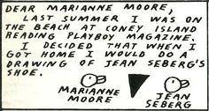 ray johnson/marianne moore 1970