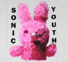 Punk Rock Girl | Sonic Youth / Dirty Bunny Tee (Grey)