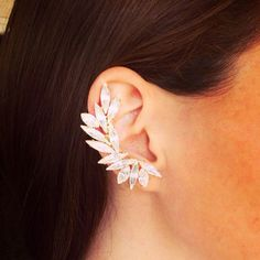 Ear climber, ear cuff