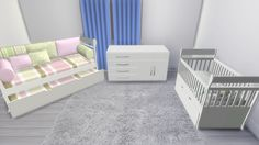 Sims 4 CC's - The Best: Toddler Bedroom Set by Lena sims 4