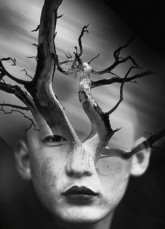 Eine schöne Serie von surrealen Zusammenstellungen von beidem: Portrait- und Landschaftsfotografie. Der aus Spanien kommenden Künstler Antonio Mora (aka mylovt) sucht in Online-Datenbanken nach Bildern aus genannten Bereichen, die er im Anschluss zu geschickten Pairings kombiniert. Im oberen Bereich