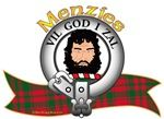 "Menzies Clan Tartan the Crest ""A savage head erased Proper"". Menzies Clan Motto is ""VIL GOD I SAL"" as ""Live for God and you shall have life"". Chief: David R.S. Menzies of Menzies. MacRory Mor"
