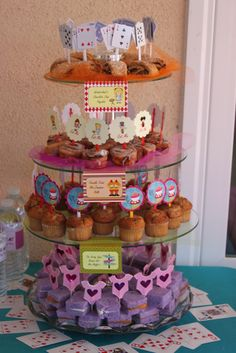Alice In Wonderland Mad Tea Party Baby Shower Party Ideas