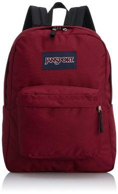 Amazon.com: JanSport Classic SuperBreak Backpack, Viking Red: Jansport: Sports & Outdoors