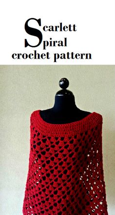Stay trendy with a stunning DIY crochet poncho pattern that is perfect for Fall.