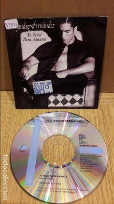 ALEJANDRO FERNÁNDEZ. YO NACÍ PARA AMARTE. CD SINGLE-PROMO / LEVE USO / ENVÍO INCLUIDO.