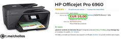 Impresora HP PRO 6960 disponible por 59 - http://ift.tt/2t0b30b