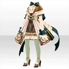 ―月に消える真実―ガチャ@セルフィ「怪盗ピッチョーネ」登場! Character Costumes, Character Outfits, Fashion Art, Girl Fashion, Fashion Design, Anime Outfits, Cool Outfits, Adventure Outfit, Anime Dress